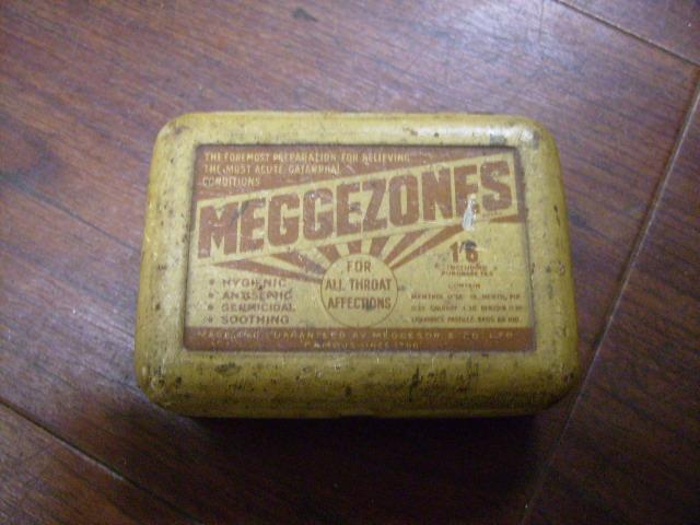 雑貨(ホビー) ティン(缶) ビンテージ缶 MEGGEZONES