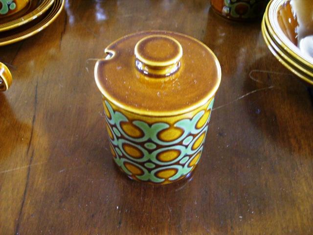 ホーンジー (Hornsea) シュガーポット Bronte アンティーク 陶磁器 雑貨陶器