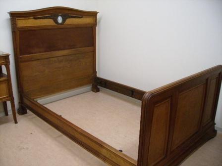 アンティーク 家具 その他 ベッド&ベットサイドテーブル&ワードローブ セット商品