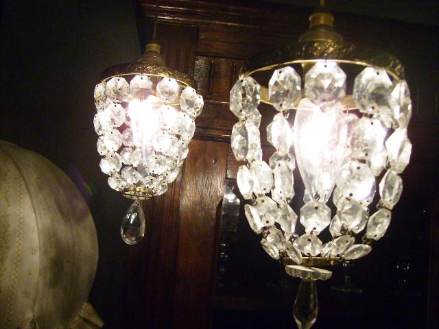 エンジェル 2灯 ランプ,アンティーク 照明,シャンデリア・ハンギングランプ