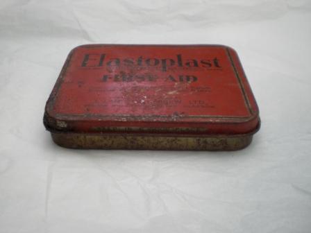 雑貨(ホビー) ティン(缶) ELASTOPLAST FIPSTAID T.J SMITH&NEPHEW