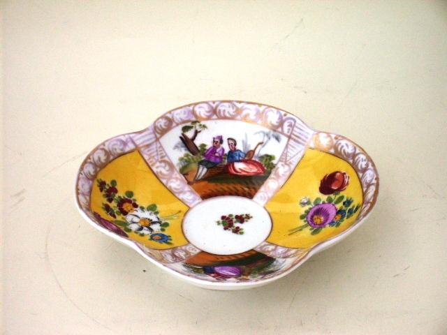 カップ&ソーサー マイセン・ドレスデン 19世紀,アンティーク 陶磁器,マイセン・ドレスデン コレクション