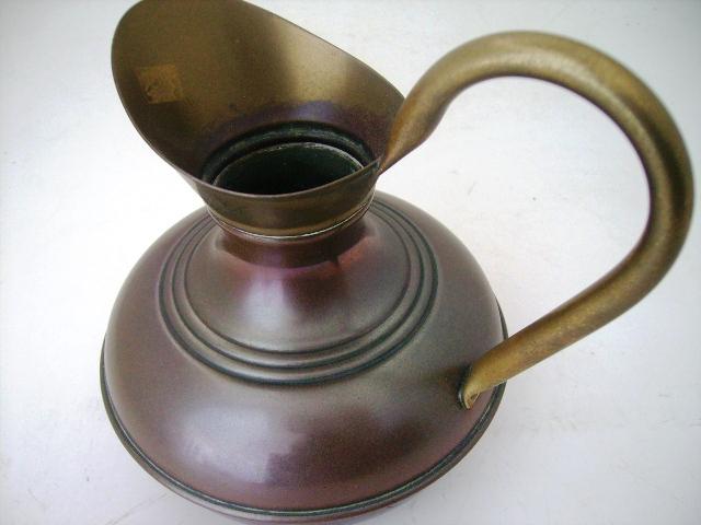 アンティーク その他 銀・銅製品ほか 真鍮 水差し