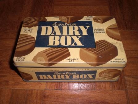 雑貨(ホビー) ティン(缶) NOWN TREE'S DAIRY BOX