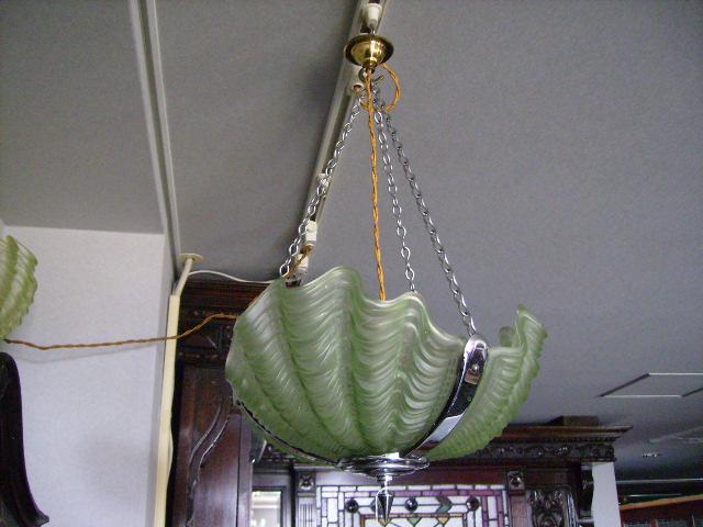 デコランプ グリーン,アンティーク 照明,シャンデリア・ハンギングランプ
