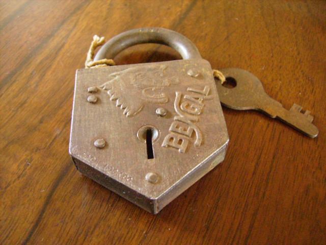 パドロック キー付き 雑貨(道具・ガジェット) ロック/キー