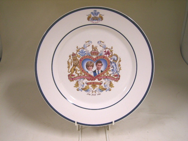 英国王室 プレート ダイアナ&チャールズ アンティーク 陶磁器 雑貨陶器
