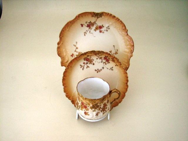 トリオ リモージュ,アンティーク 陶磁器,食器 カップ&ソーサー他