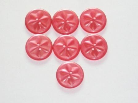 ボタン ピンク 7個,ビンテージ ボタン,