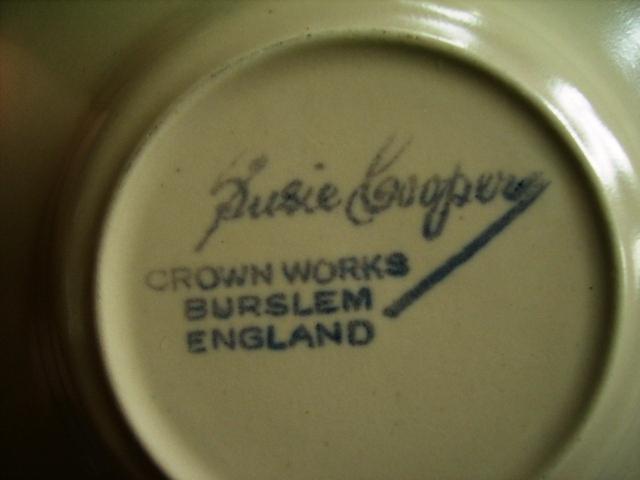 スージークーパー(Susie Cooper) ツートン カップ&ソーサー4客セット アンティーク 陶磁器 スージークーパー
