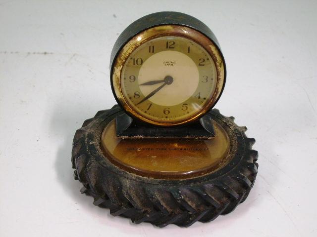 ビンテージ/コレクタブル 時計 Smith 置時計(タイヤ型置物)