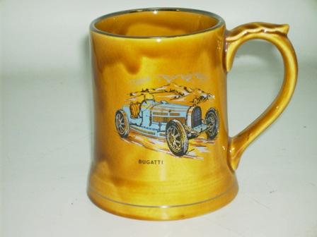 Wade社 Veteran Car シリーズ マグカップ Bugatti オートモビリア その他 絵皿・カップ・トロフィ