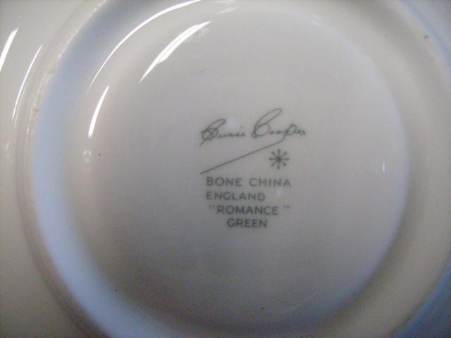 アンティーク 陶磁器 スージー クーパー スージークーパー(Susie Cooper) ロマンス (Romance) トリオ