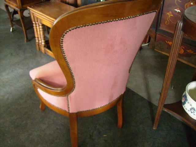 サロンチェアー ピンク,アンティーク 家具,チェア・ソファー