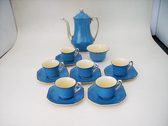 ウェッジウッド デミコーヒーセット,アンティーク 陶磁器,食器 カップ&ソーサー他