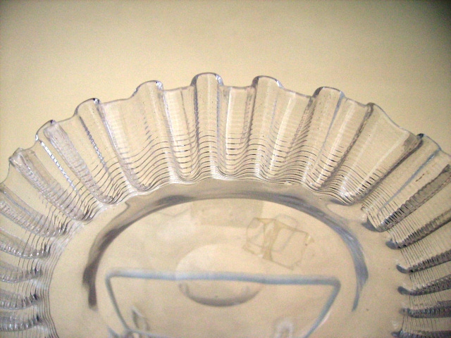 グラス プレート クリアー,アンティーク ガラス,クリアー系