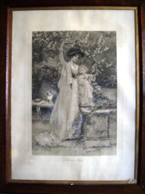雑貨(ホビー) 絵・額入り品 絵 Victorian