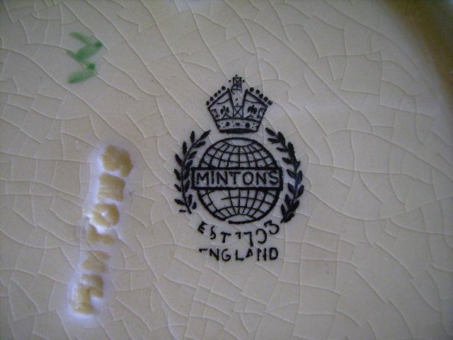アンティーク 陶磁器 食器 カップ&ソーサー他 ミントン サラダプレートx5 サラダボールx1