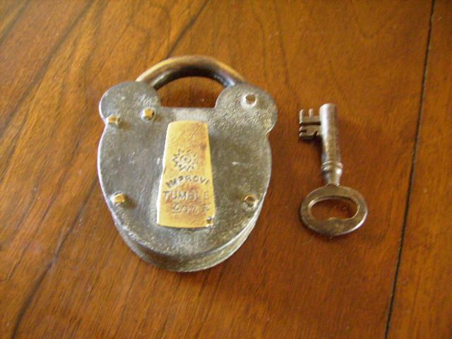 雑貨(道具・ガジェット) ロック/キー パドロック キー付き