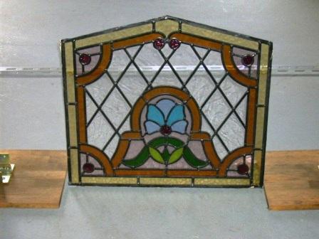 ステンドグラス パネル アンティーク 建材 ステンドグラス