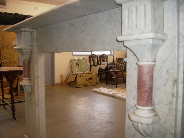 大理石 マントルピース,アンティーク 建材,暖炉まわり