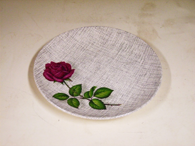 雑貨(キッチン) 雑貨陶器 プレート J&G MEAKIN(ミーキン) 1枚 4800円