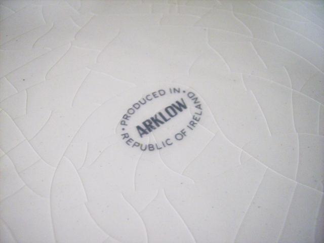 アンティーク 陶磁器 飾り用プレート プレート ARKLOW