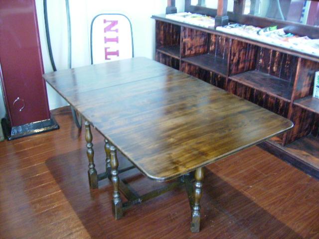 アンティーク 家具 テーブル・ダイニングセット ゲートレッグ テーブル