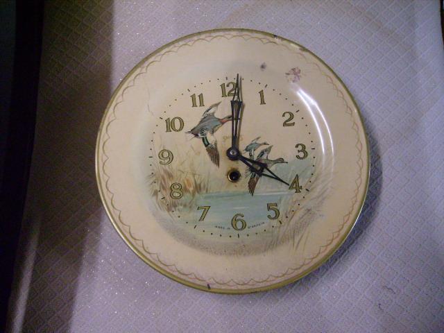 ビンテージ/コレクタブル 時計 Smith 掛時計 (故障品、飾り用)