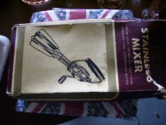 雑貨(キッチン) キッチン用品 ハンドミキサー 箱付き