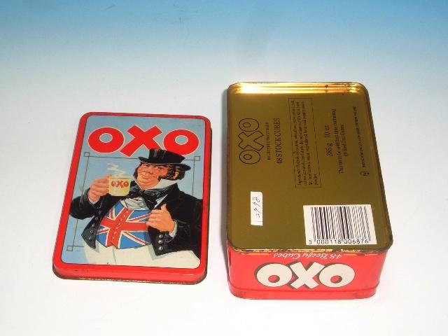 雑貨(ホビー) ティン(缶) ビンテージ・ティン OXO
