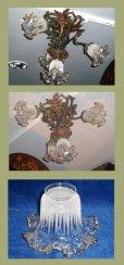 画像2: ハンギングランプ 4灯 ブロンズ (2)