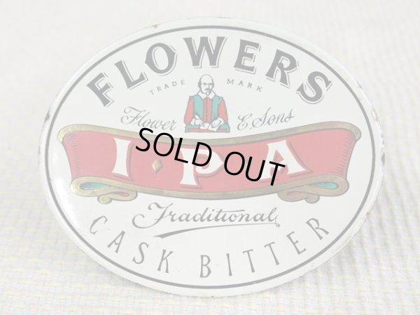 画像1: ビア・ハンドル用プレート(Flowers Cask Bitter IPA)