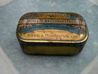 ビンテージ ティン(缶) Allen & Hanburys