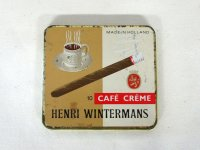 ビンテージ ティン(缶) CAFE CREME HENRI WINTERMANS