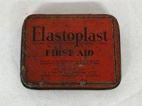 ビンテージ ティン(缶) ELASTOPLAST FIPSTAID T.J SMITH&NEPHEW