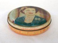 ビンテージ ティン(缶) 1953年 エリザベス女王 QUEEN ELIZABETH II CHOCOLATE