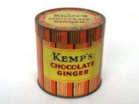 ビンテージ ティン(缶) Kemp's  CHOCOLATE GINGER