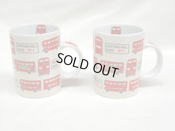画像3: ロンドンバス マグカップ 2個セット 箱付き (1)(2)
