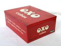 ビンテージ缶 OXO CUBES