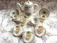 画像2: グレイ社Gray's Pottery デミ カップ&ソーサー5客+ジャグ+シュガーボール+ポット (2)
