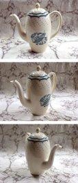 画像3: グレイ社Gray's Pottery デミ カップ&ソーサー5客+ジャグ+シュガーボール+ポット (3)