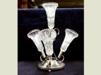 バーズ(花器) カットガラス