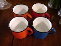 ホウロウ マグカップ(1)(2)(3)(4)