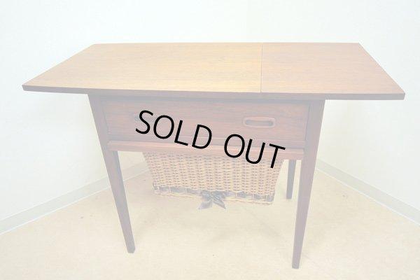 画像1: ソーイングテーブル