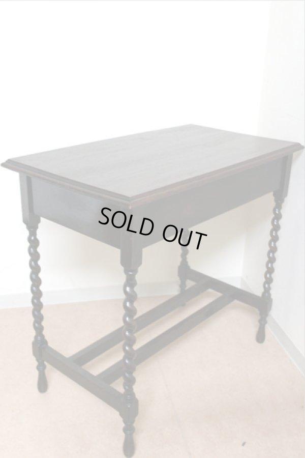 画像4: テーブル 小 引き出し有り