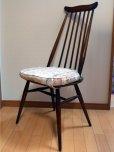 画像4: アーコール(Ercol)チェア ゴールドスミスGoldsmith Windsor Chair クッション付 (4)