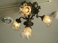 ハンギングランプ 4灯 ブロンズ