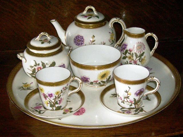 画像2: ロイヤルウースター(Royal Worcester) Tea Set(トレー付)