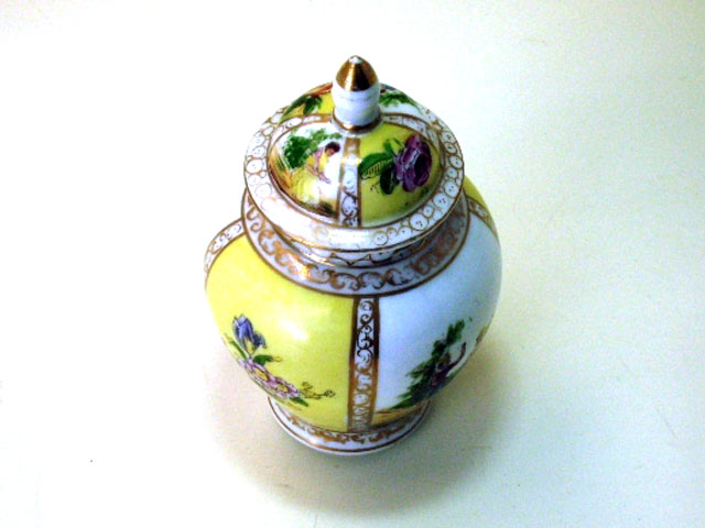 画像2: ドレスデン風 壺(小)